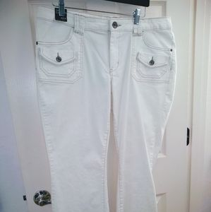 Cool white pants-Petite